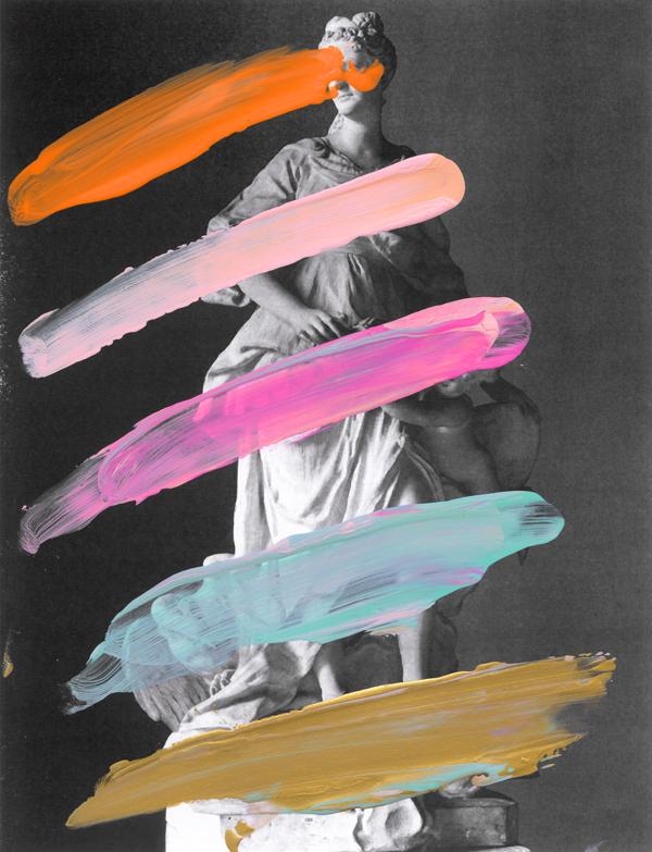 Castrophia---paint-on-laser-print---2012---10,5-x-8---002